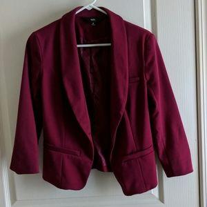 Cranberry blazer